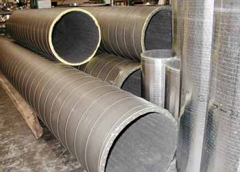 Insulated Spiral Pipe Sections