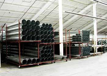 Spiral Pipe Stock